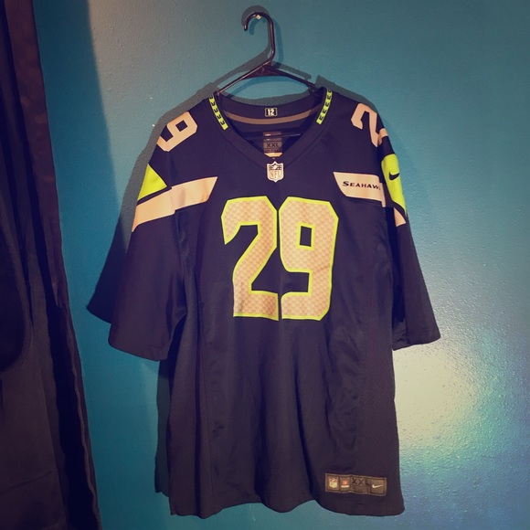 newest 32987 ad204 Nike Seahawks Jersey xxl Earl Thomas III
